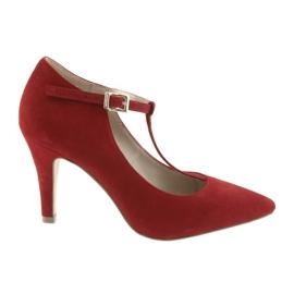 Calzado mujer rojo caprice 24400