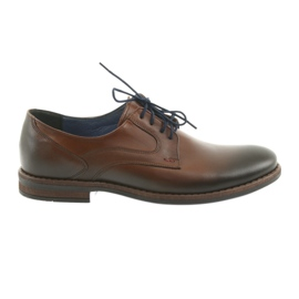 Calzado hombre de hombre marrón Nikopol 1712