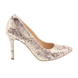 Zapatos de mujer piel de serpiente Edeo 3313.