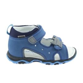 Sandalias niños nabos Bartek 51489 azul