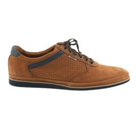 Zapatillas deportivas Badura 3523 marrón ligeras