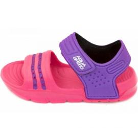 Aqua-Speed Sandalias Aqua velocidad Noli rosa púrpura col.39