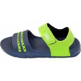 Sandalias Aqua-speed Noli navy green Kids col.48