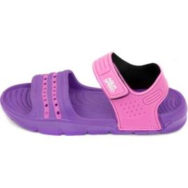Sandalias Aqua-speed Noli púrpura rosa para niños col. 93