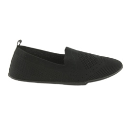 Negro Zapatillas McKey Sneakers slip-in negras