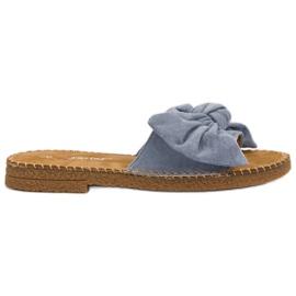 Seastar Zapatillas azules con lazo