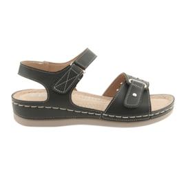 Sandalias para mujer comfort DK 25131 negras. negro