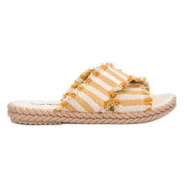 Seastar amarillo Zapatillas Con Cinturones