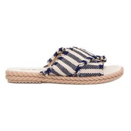 Seastar Zapatillas Con Cinturones azul