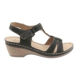 Sandalias de mujer cómodas DK negro