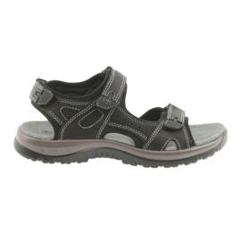 DK sandalias negro velcro luz EVA inferior