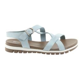 Big Star azul Sandalias cómodas