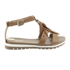 Zapatos boho Big Star 274958 marrón