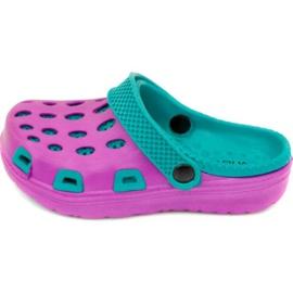 Zapatillas Aqua-speed Silvi Jr col 09 violeta azul