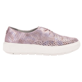 Goodin Zapatos de cuero ligero
