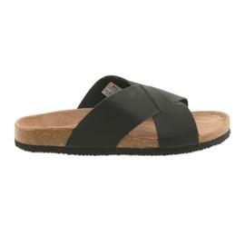 Negro Zapatillas perfiladas para hombre Big Star 174603 negras