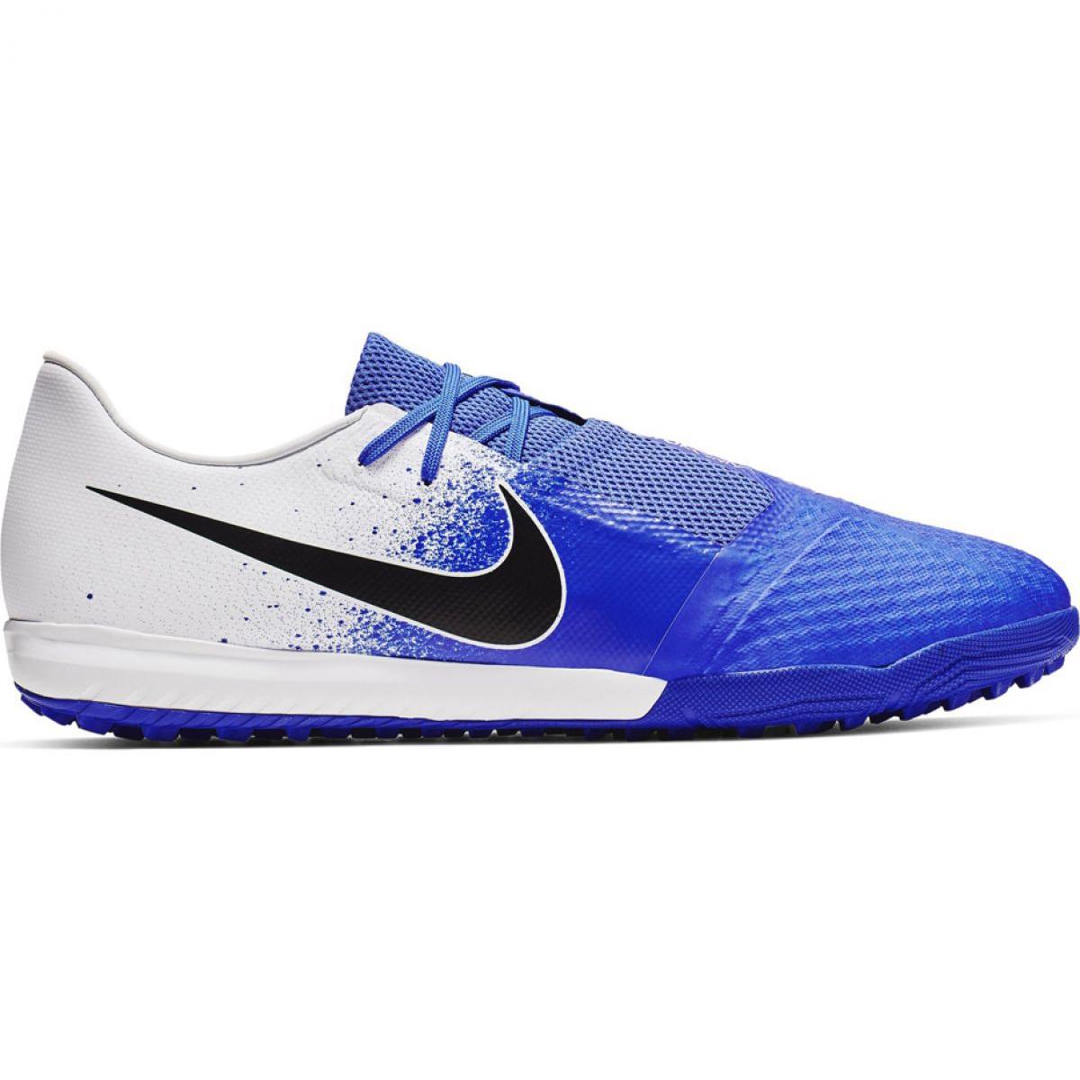 Zapatos de fútbol Nike Phantom Venom Academy Tf M AO0571 104 blanco rojo azul