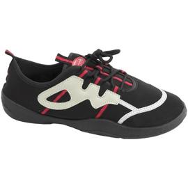 Zapatillas de playa Aqua-speed negro gris-rojo 19A
