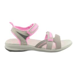 Sandalias para niña American Club HL12 gris