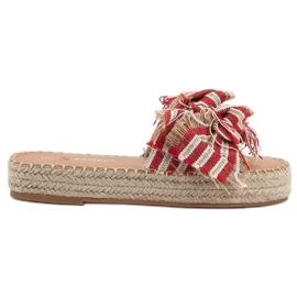 Seastar rojo Zapatillas Con Cinturones