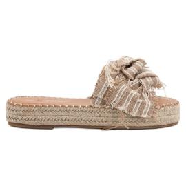Seastar Zapatillas Con Cinturones marrón