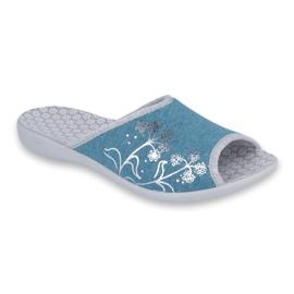 Azul Zapatos de mujer befado pu 254D102.