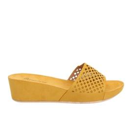 Amarillo Zapatillas caladas amarillas JS-03 amarillas