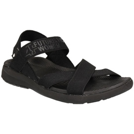 Negro Sandalias 4F W H4L19-SAD002 20S negras