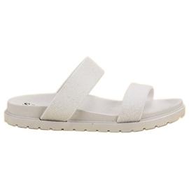 Seastar Zapatillas brillantes blanco