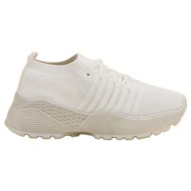 Vices blanco Zapatos deportivos cómodos