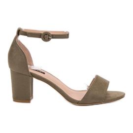 Verde Sandalias VICES con estilo
