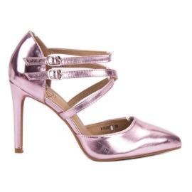 Kylie rosa Shiny Fashion Studs
