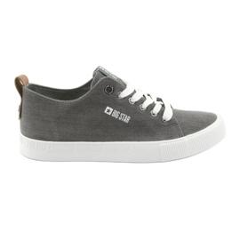 Zapatillas grises de hombre Big Star 174165