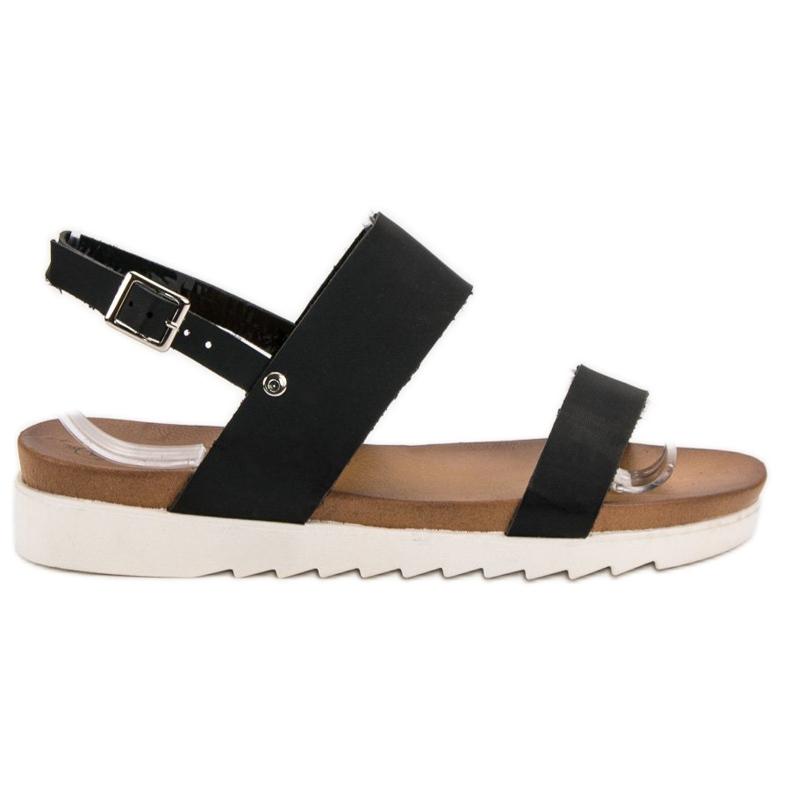 Negras Best Planas Sandalias Shoes Negro jRq54c3ALS