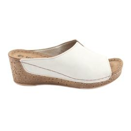 Marrón Zapatillas de mujer Inblu NLG002 beige