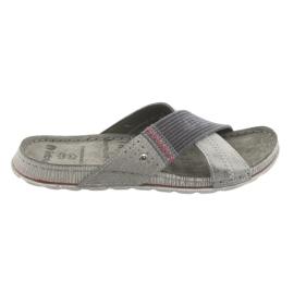 Zapatillas gris Inblu GG009 para hombre