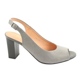 Espinto S274 sandalias exteriores mujer gris