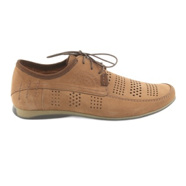 Calzado deportivo de hombre Riko 694 marrón claro