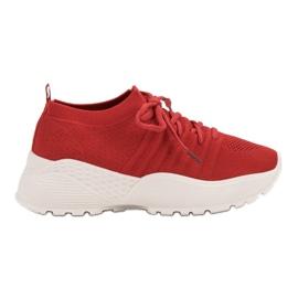 Zapatillas de deporte VICES ranuradas rojo