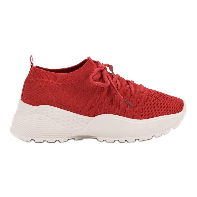 Rojo Zapatillas de deporte VICES ranuradas