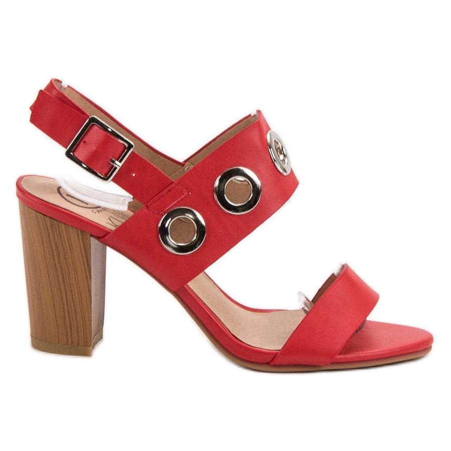 comprar baratas compras una gran variedad de modelos Kylie Tacones altos rojos