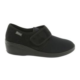 Negro Zapatos de mujer befado pu 033D002