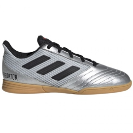 Zapatos de interior adidas Predator 19.1 en Sala Jr G25829 gris multicolor