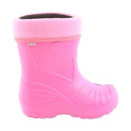 Zapatos befado para niños galosh rosa 162