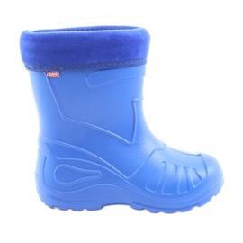 Azul Botas de lluvia para niños Befado 162