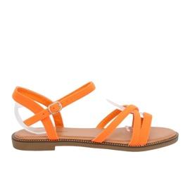 Sandalias mujer naranja WL255 naranja