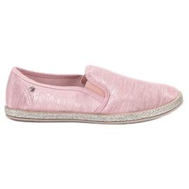 Balada rosa Zapatillas brillantes se deslizan en