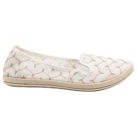 Blanco Zapatillas Blancas Slip On VICES