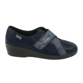 Zapatillas de mujer befado pu 032D001 azul