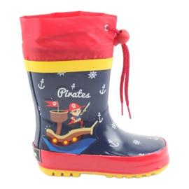 American Club Botas de lluvia infantiles americanas. Pirata